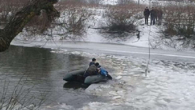 У річці на Волині рятувальники виявили мертву дитину на крижині