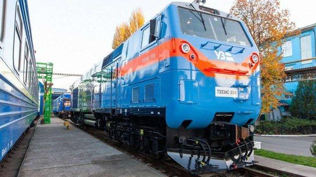 В Україну прибули всі 30 локомотивів General Electric