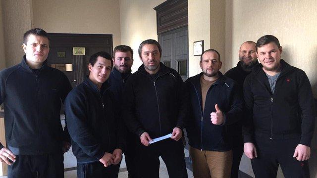 Затриманих у Грузії українців відпустили під заставу