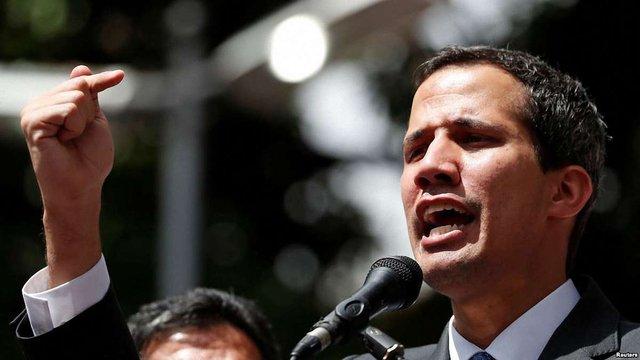 15 країн Євросоюзу визнали Хуана Гуайдо тимчасовим президентом Венесуели