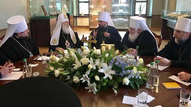 Синод Православної церкви України зібрався на перше засідання