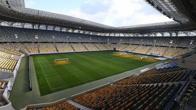 Збірна України зіграє два матчі на «Арені Львів»
