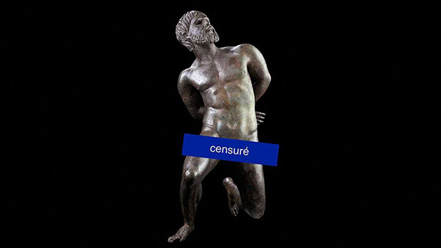 Facebook змусив музей «прикрити» оголені античні скульптури