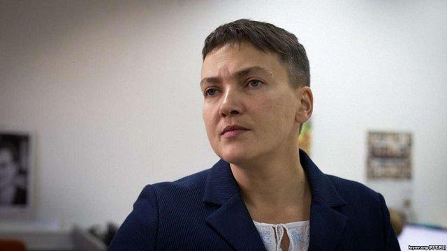 ЦВК відмовилася реєструвати Надію Савченко кандидаткою в президенти