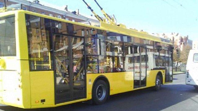 У суботу у Львові тимчасово не курсуватиме тролейбус №24