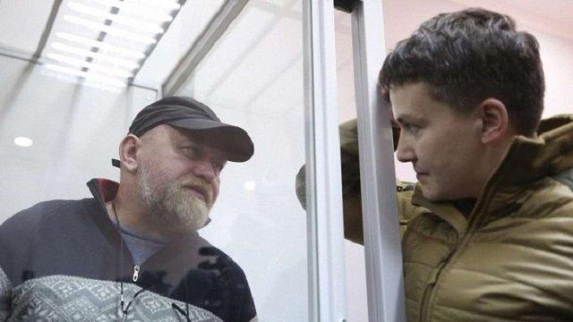 Справу Савченко та Рубана продовжать розглядати в суді Чернігівської області