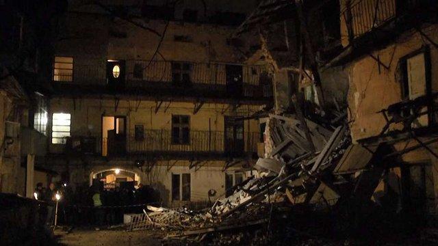 Галицька адміністрація отримала експертний акт щодо стану обваленого будинку