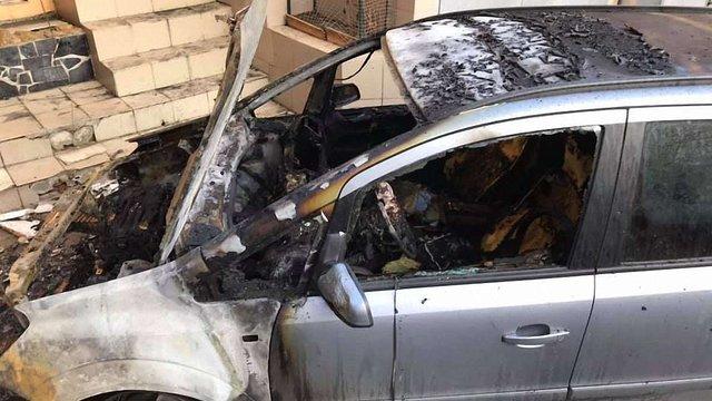 В Одесі спалили автомобіль активіста, який боровся проти забудов