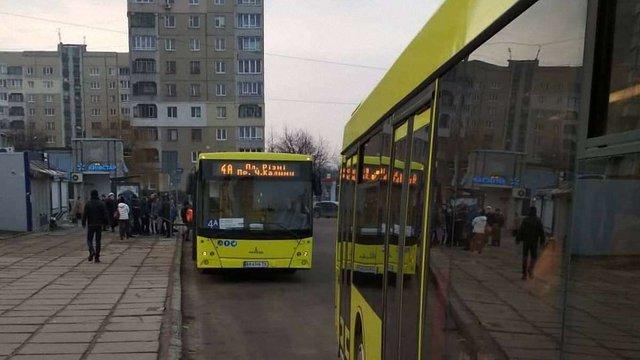 АТП-1 відновило маршрут №4а з великогабаритними автобусами