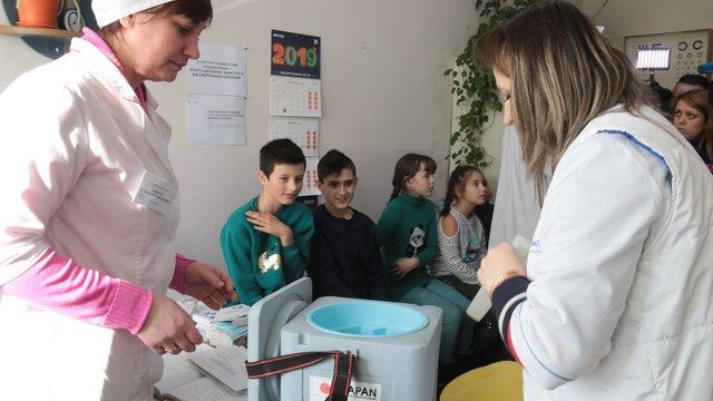 На Львівщині стартувала спецоперація МОЗ з вакцинації дітей від кору