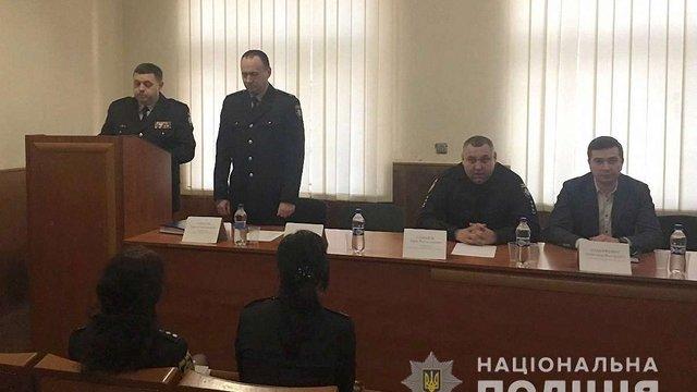 Шевченківський районний відділ поліції Львова має нового начальника