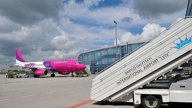 Wizz Air у літньому сезоні суттєво збільшить частоту виконання рейсів зі Львова