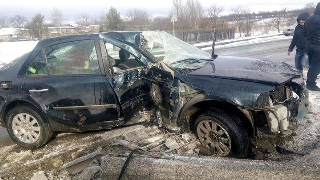 Через ДТП у Рудках, яку скоїв п'яний водій, травмувалася 4-річна пасажирка