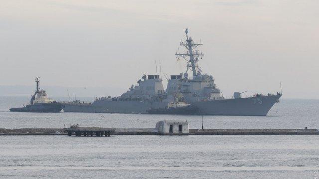 В порт Одеси зайшов американський ракетний есмінець Donald Cook