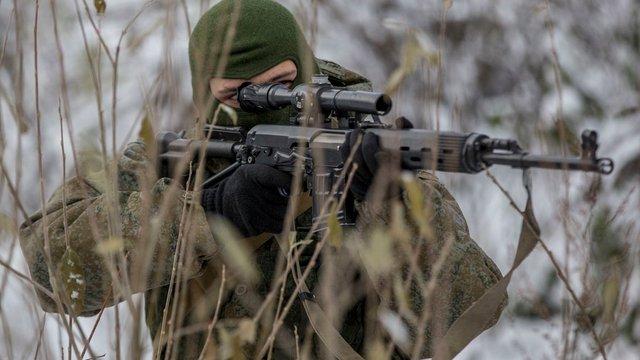 Українські військові на Донбасі ліквідували двох російських снайперів