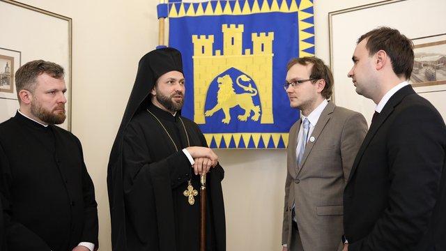 Представник Вселенського Патріарха зустрівся з львівськими посадовцями