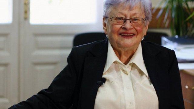 Професорці львівського університету Олександрі Сербенській виповнилось 90 років