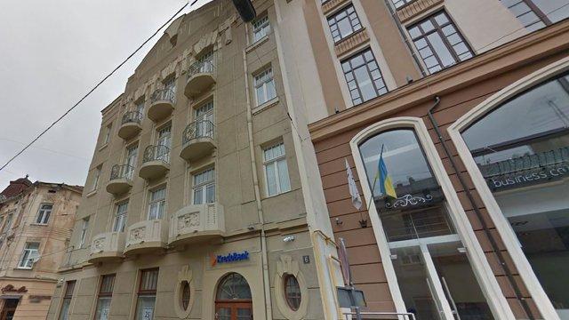 Будівлю банку в центрі Львова перебудують під готель