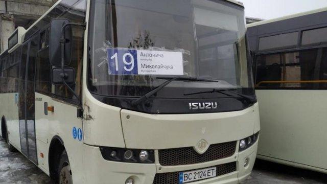 АТП-1 збільшило кількість автобусів на маршруті №19 та продовжило роботу маршруту №2А