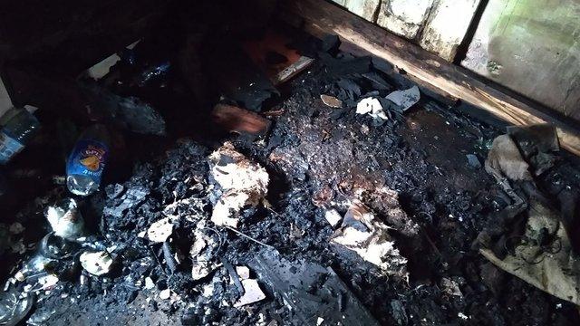 Під час пожежі у Жидачеві рятувальники виявили мертвим 41-річного чоловіка