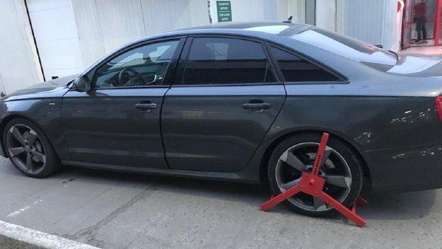 У Шегинях прикордонники виявили викрадене у Польщі авто