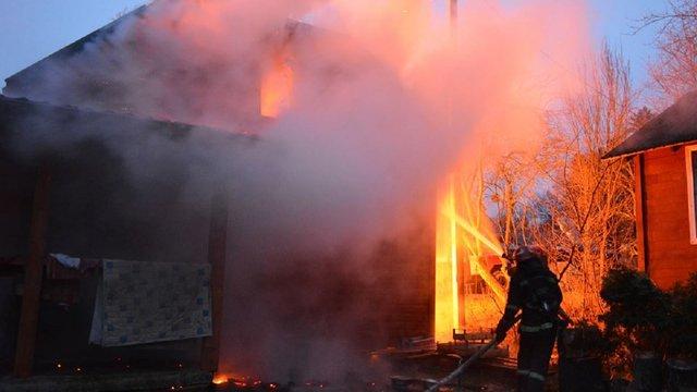 На Старосамбірщині внаслідок пожежі у приватному будинку загинула 86-річна власниця