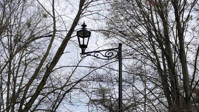 У Стрийському парку встановлюють нове освітлення
