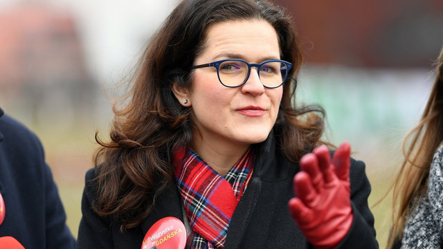 На виборах мера Ґданська перемогла заступниця убитого міського голови Алєксандра Дулькєвич