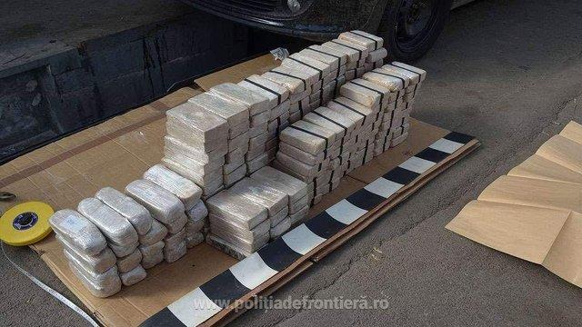 Наркокур'єри з Нідерландів перевезли через український кордон до Румунії 84 кг героїну