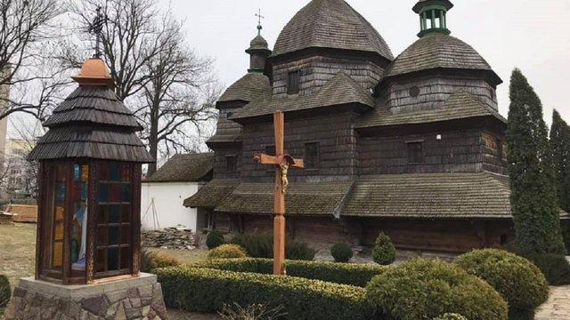 У Жовкві почали реставрувати дерев'яну церкву XVIII ст. зі списку ЮНЕСКО
