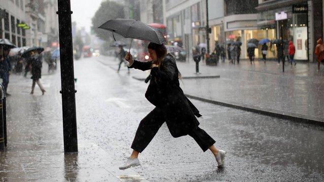Циклон Franz приніс до Західної України похмуру і дощову погоду