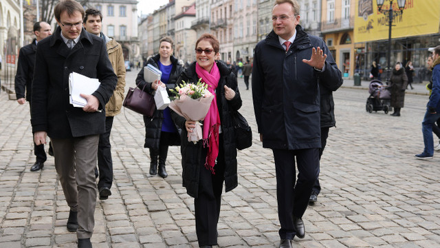 Міський голова Львова зустрівся з посолкою США в Україні