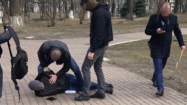 Служба безпеки України викрила на хабарі позаштатного радника керівництва МВС