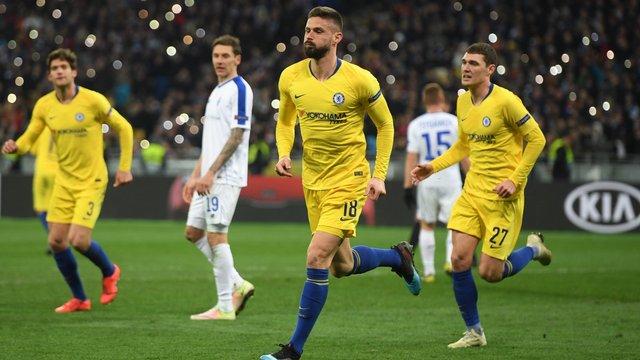 «Динамо» розгромно програло вдома «Челсі» та вилетіло з Ліги Європи