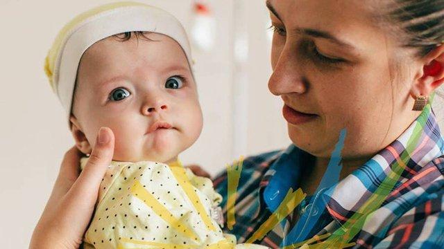 МОЗ виділило 120 тис. євро для порятунку 6-місячної дівчинки з Дрогобиччини