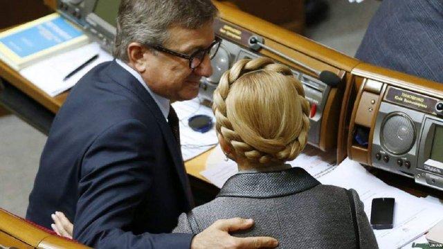 Сергій Тарута підтримав на виборах Юлію Тимошенко