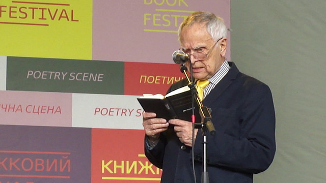 Поет Дмитро Павличко перетворив свій творчий вечір на агітацію