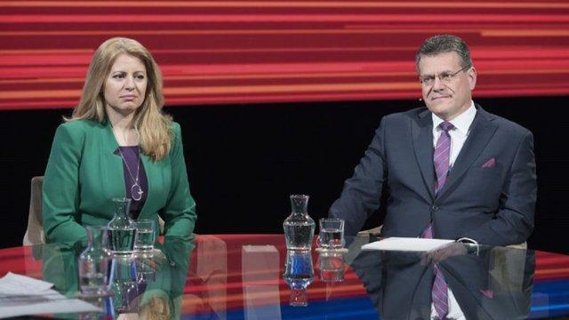 Адвокатка і віце-президент Єврокомісії вийшли у 2-й тур виборів президента в Словаччині