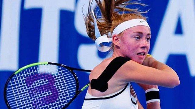 Юна українська тенісистка Дар'я Лопатецька здобула п'ятий титул у кар'єрі
