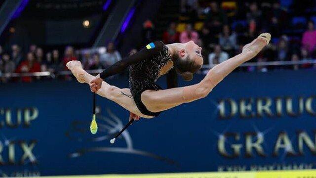 15-річна львівська гімнастка стала срібною призеркою Кубку Дерюгіної