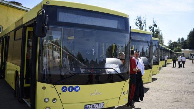 АТП-1 запускає великі автобуси на маршрут №18
