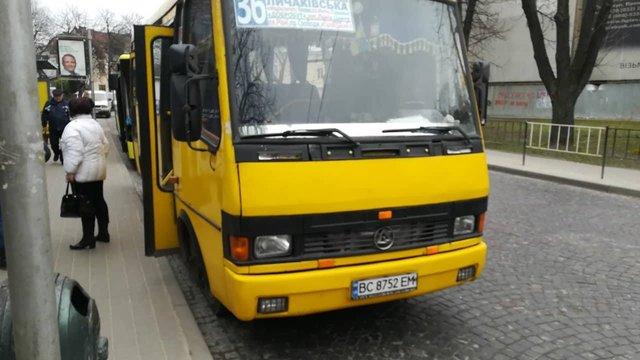 Приватний перевізник самовільно почав обслуговувати львівський маршрут №36