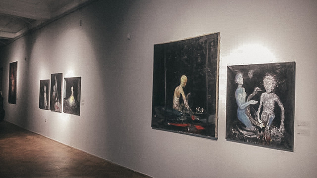 У Галереї мистецтв відкрилась ретроспективна виставка Мирослава Ягоди