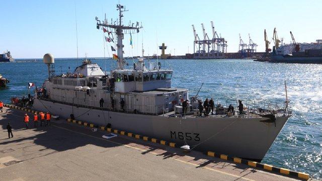 До Одеси прибув корабель ВМС Франції Capricorne