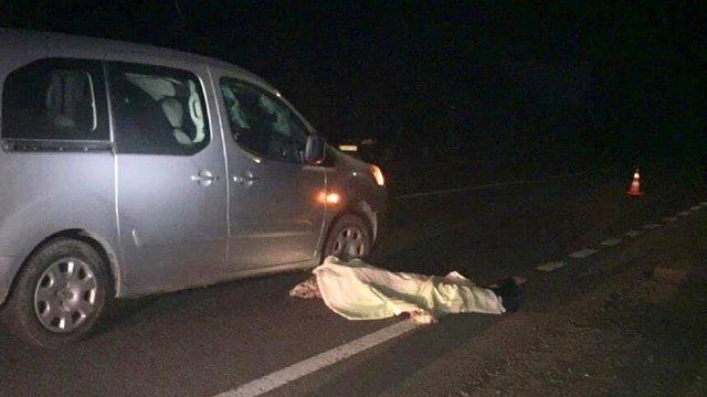 На трасі Львів-Шегині водій Peugeot на смерть збив 55-річного велосипедиста