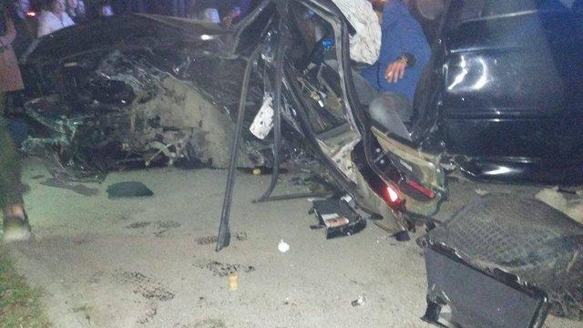 Внаслідок зіткнення BMW та Volkswagen у Львові постраждали шестеро осіб