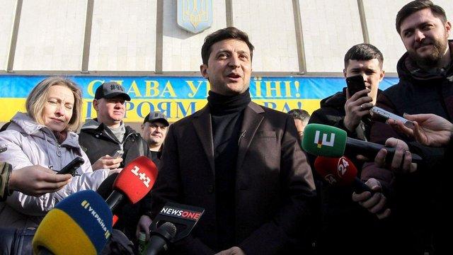 У день тиші на каналі «1+1» показуватимуть проекти кандидата Володимира Зеленського