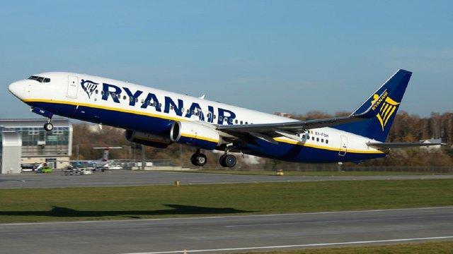 Ryanair у червні розпочне польоти з Одеси і Харкова