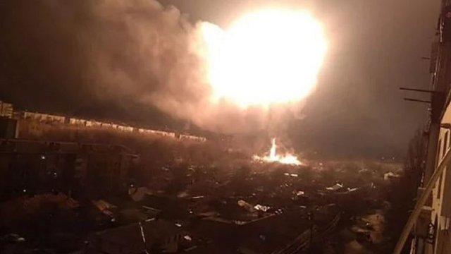 У центрі Кропивницького вибухнула газова заправка