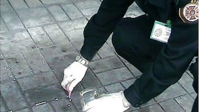 На вулиці у центрі Львова виявили близько кілограма розлитої ртуті